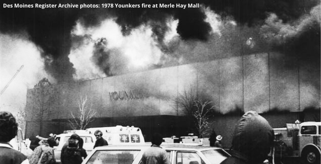 Des Moines Register Archive photos: 1978 Younkers fire at Merle Hay Mall