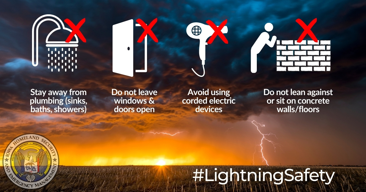 Lightning Safety - What to Avoid